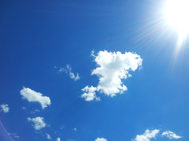 Weather: Mostly sunny with a chance of rain