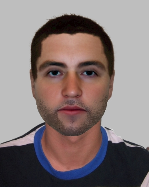 WANTED: Police would like to speak to a man matching this e-fit. Photo: West Mercia Police