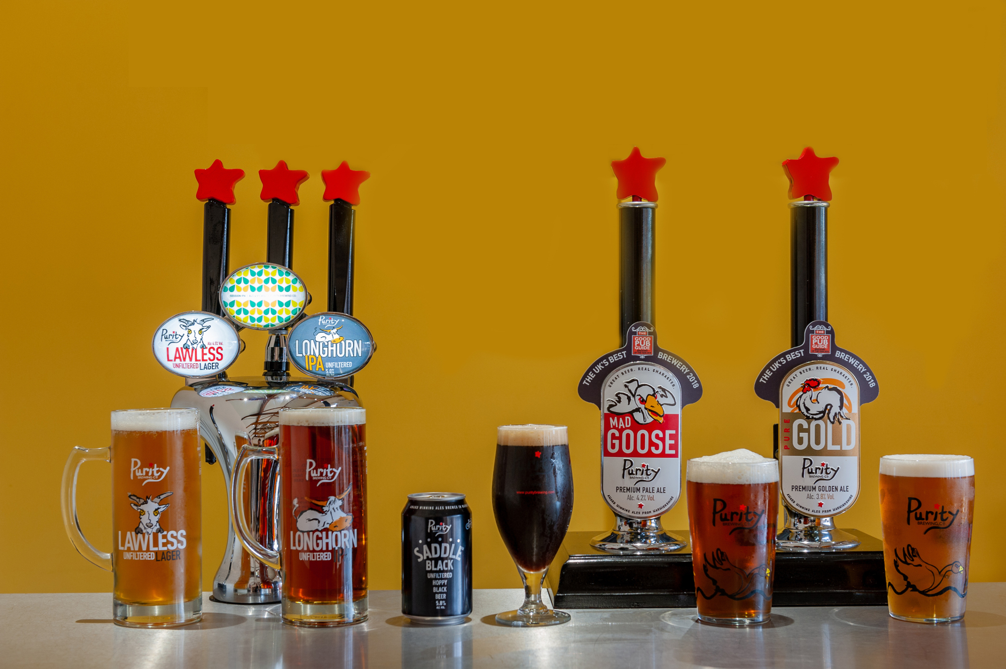Purity racks up five medals at the International Beer Challenge