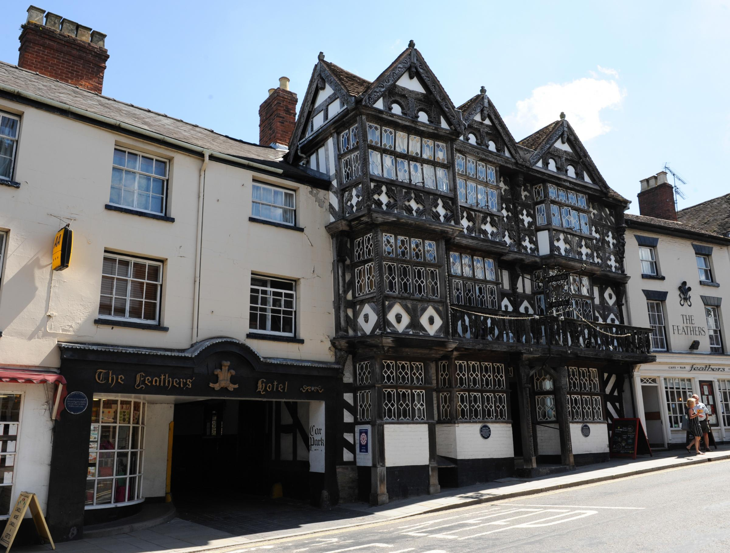 The Feathers Hotel, Ludlow..