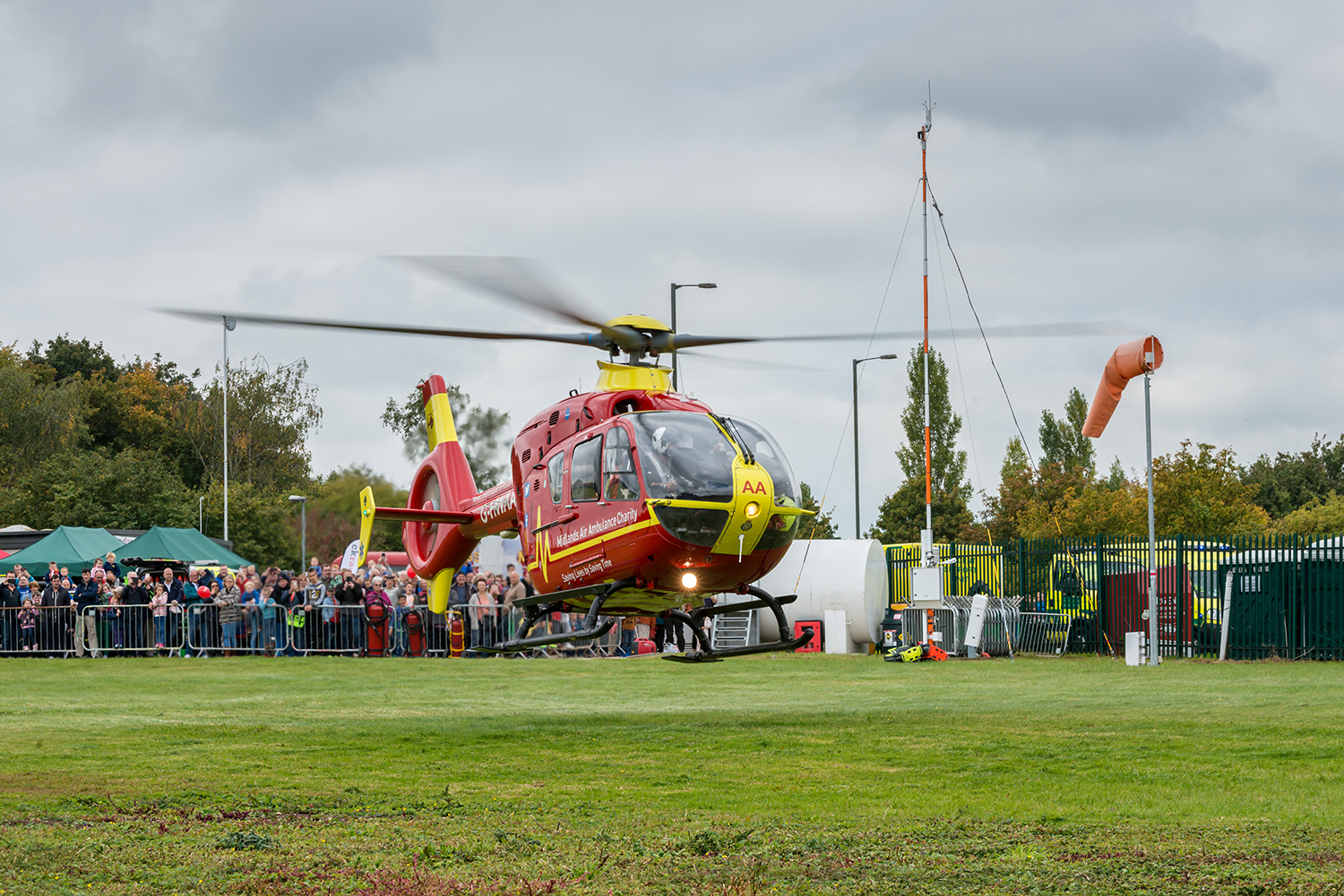 Find out about our air ambulance at open day