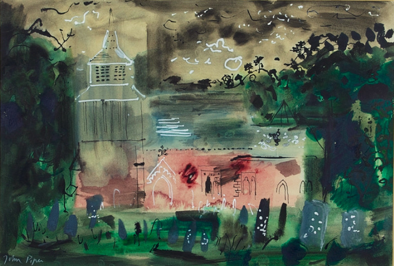 John Piper in Malvern