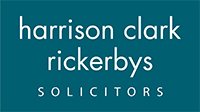 Droitwich Advertiser: Harrison Clark Rickerbys Solicitors logo