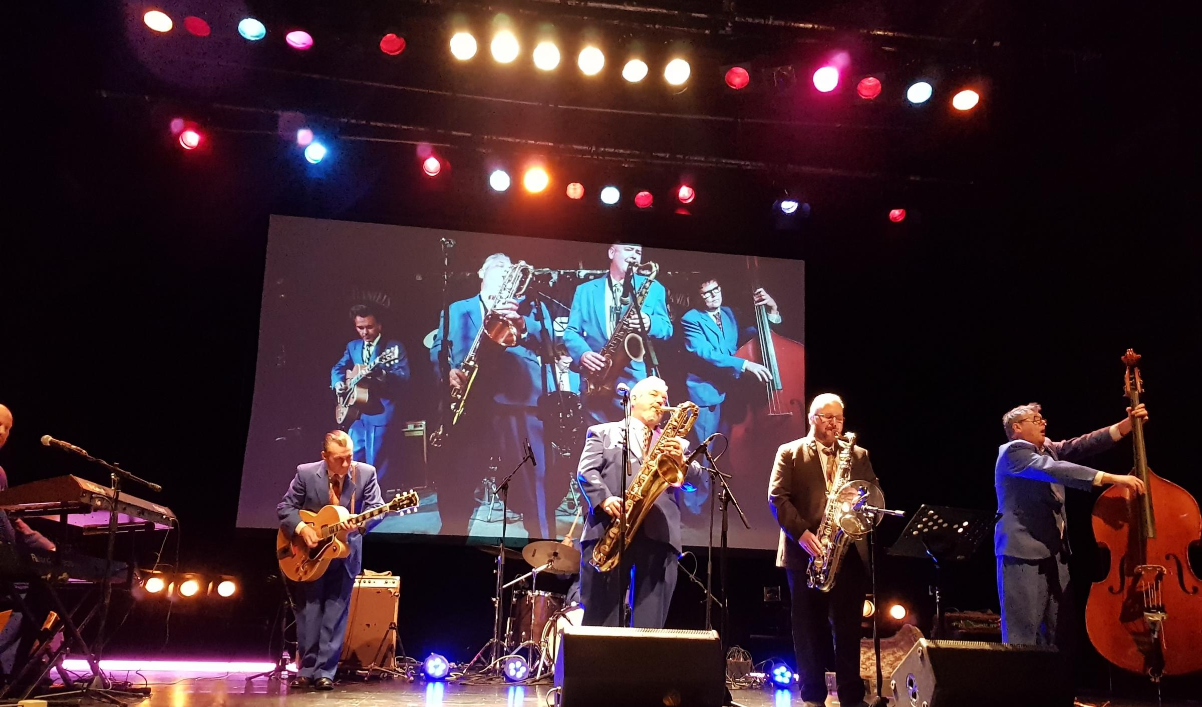 BLUES: King Pleasure and the Biscuit Boys at the Artrix