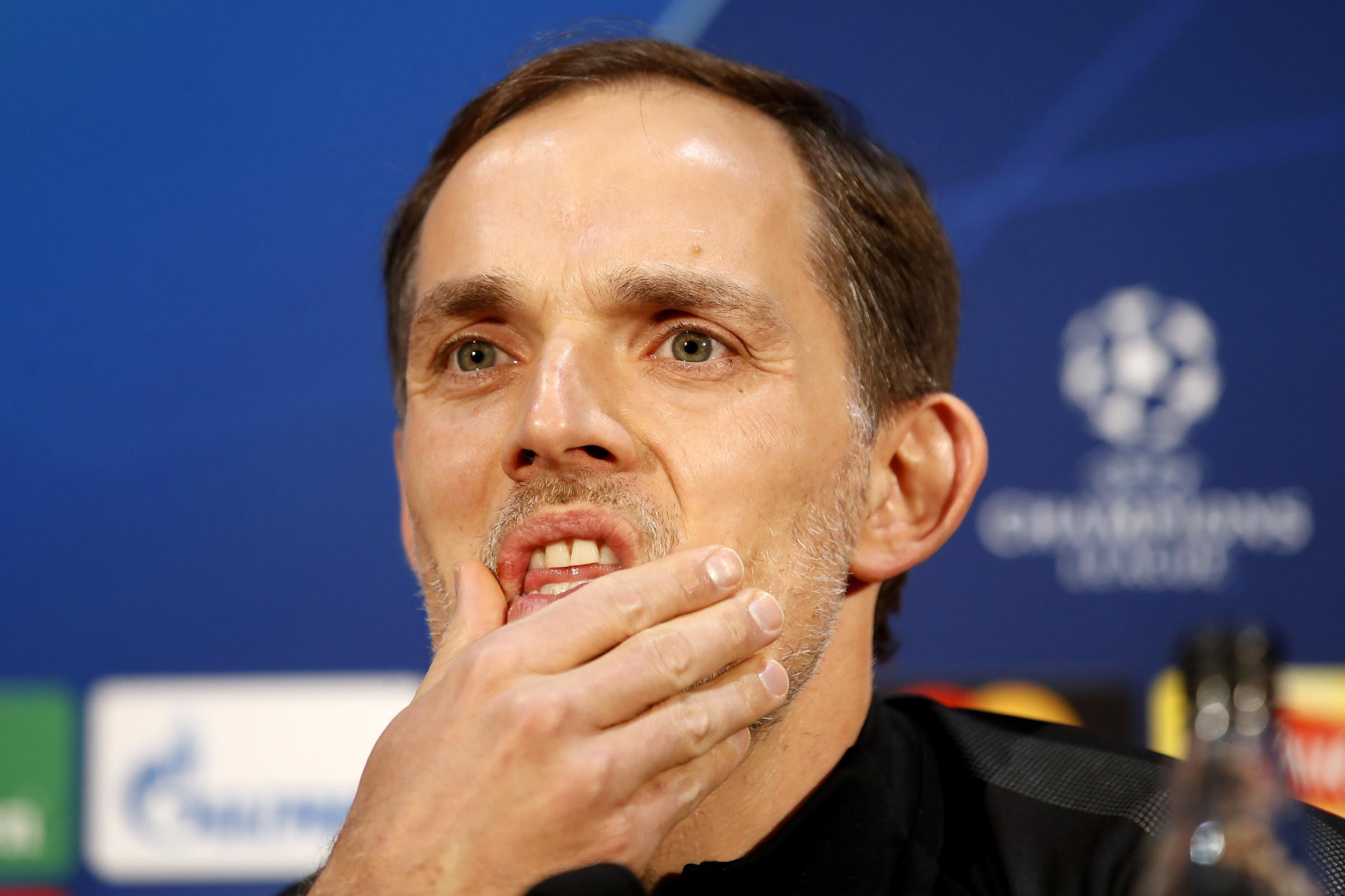Thomas Tuchel is wary of the threat posed by a resurgent Manchester United