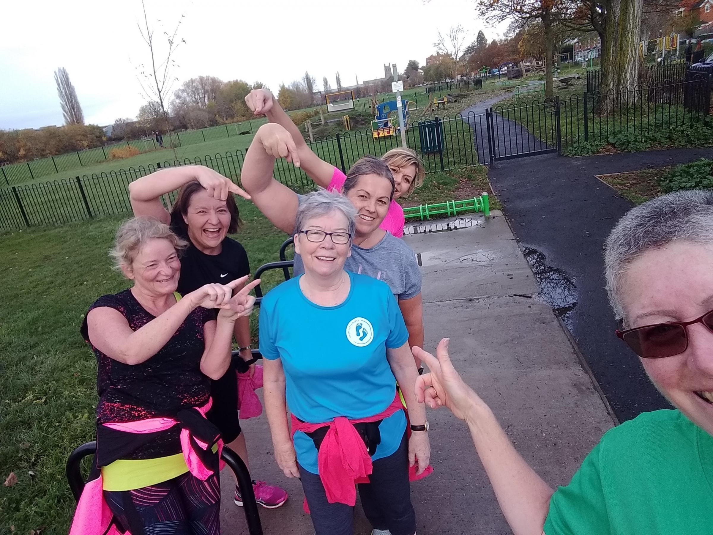 HEALTHY: Marion Winwood, aged 71, will complete her tenth marathon