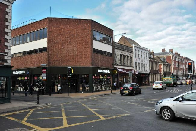 TAKEAWAY ONLY: McDonalds, The Cross, Worcester