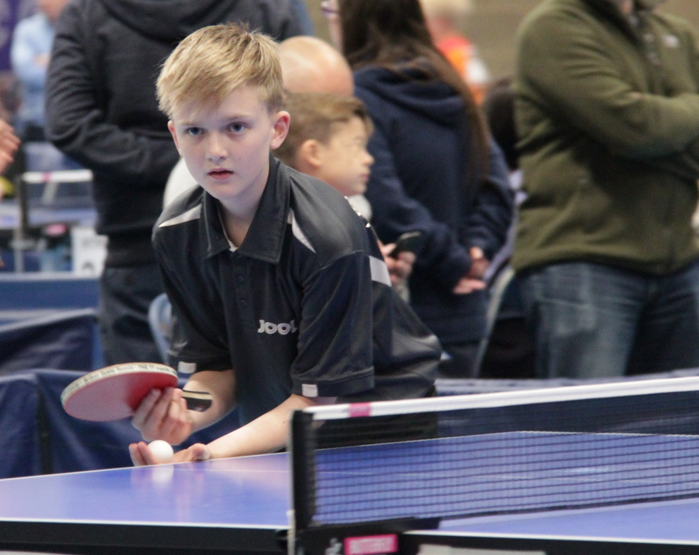 Alex Setchell in action in the U11 competition. Picture: Sam Setchell