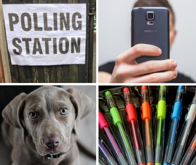 Polling station rules -  selfies, dogs and filling out your vote