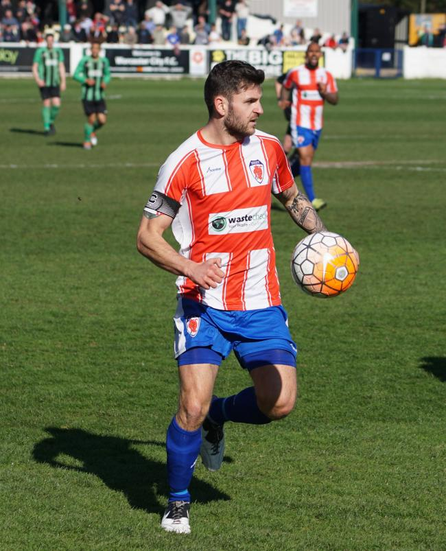 BOXING CLEVER | Worcester City snap up ex-Bromsgrove skipper. Pic: David Kettle.